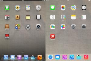 iPad retinaをiOS7にしてみる8