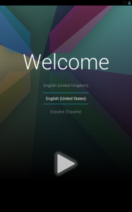 Nexus7 2013の初期セットアップをする