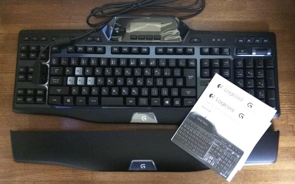 ゲーミング キーボードG510 を使ってみる2