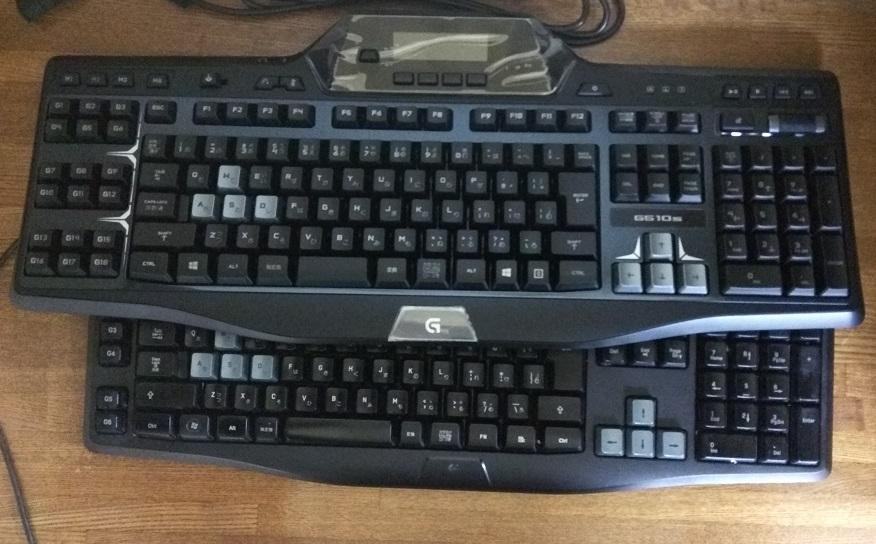 ゲーミング キーボードG510 を使ってみる3