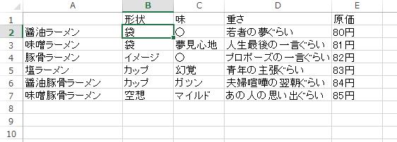 Excelでテキストが入ってる最後のセルまでジャンプ&選択するショートカット