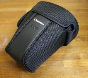 Canon デジタルカメラケース ブラック EH25-Lとレンズポーチを使ってみる