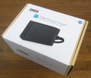 ANKERの40W 5ポート USB急速充電器 ACアダプタを使ってみる1
