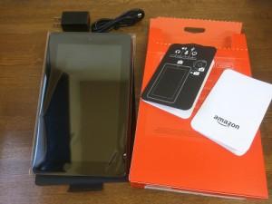 Fireタブレット 8GB ブラックを使ってみる2