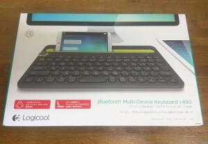 Bluetoothキーボード ロジクール K480を使ってみる1