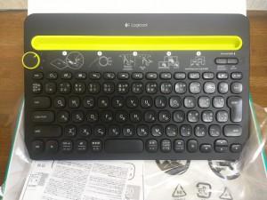 Bluetoothキーボード ロジクール K480を使ってみる3