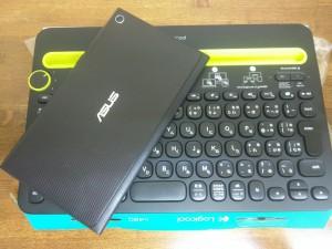Bluetoothキーボード ロジクール K480を使ってみる4