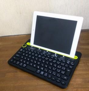 Bluetoothキーボード ロジクール K480を使ってみる6