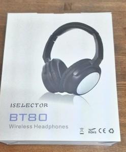 Bluetoothヘッドホン ISELECTOR BT80を使う