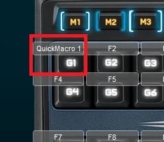 ロジクール G510sでクイックマクロ機能を使ってみる4