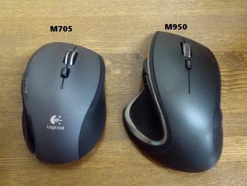 ロジクール ワイヤレスマラソンマウス M705tを使ってみる6