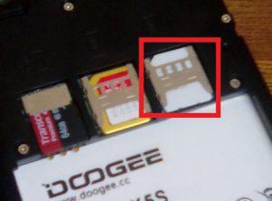 SIMフリースマートフォン DOOGEE X5SでデュアルSIMを使ってみる1