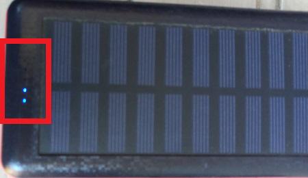 Antunのソーラーチャージャー付きモバイルバッテリー5