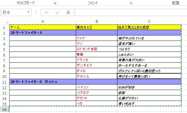 Evernoteに表計算ソフトで表を作る(ソフト別比較)